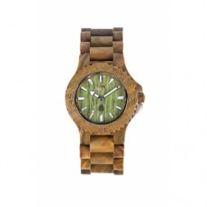 Wewood - Orologio in legno Date Army