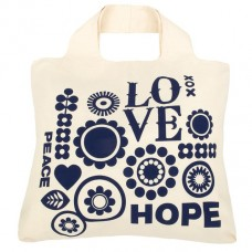 Envirosax Shopping Bag in Cotone Organico Love