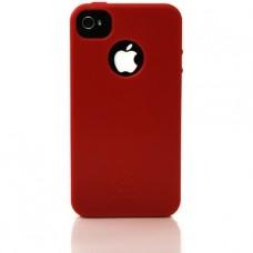 iNature - Custodia iPhone 100% biodegradabile - Colore: rosso scuro