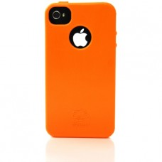 iNature - Custodia iPhone 100% biodegradabile - Colore: arancione